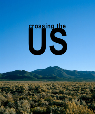 Couverture Livre personnel Crossing the US, par Céline Michel photographe